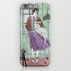 Girl with a sheep iPhone 6s Slim Case