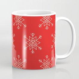 Seamless pattern with snowflakes Coffee Mug