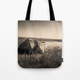 The Old Fishing Boats Tote Bag