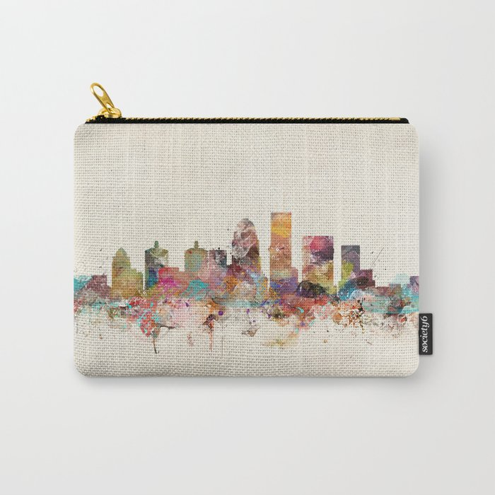 louisville kentucky skyline Carry-All Pouch