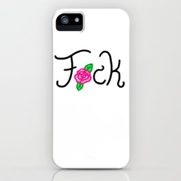 Profane Flower iPhone Case