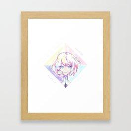 Houseki no kuni - Diamond Framed Art Print