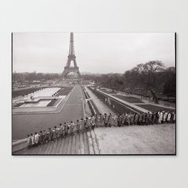 The Long March (Paris, France) ©2007 John D. Elliott  Canvas Print