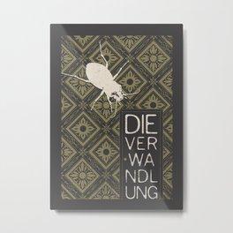 Books Collection: Kafka, The Metamorphosis Metal Print