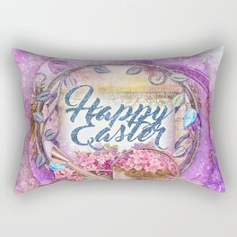 Violette Easter Rectangular Pillow