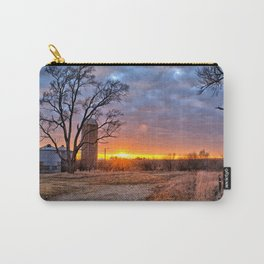 Grain Bin Sunset 3 Carry-All Pouch