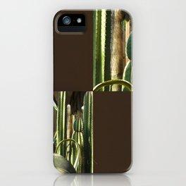 Cactus Garden Blank Q3F0 iPhone Case