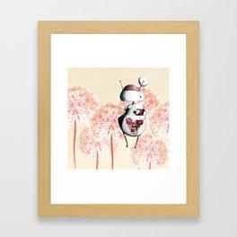 Eros the Lovebot Framed Art Print
