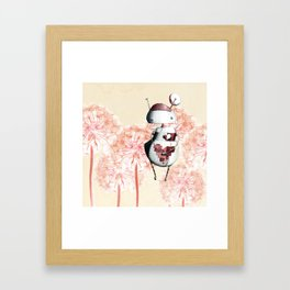 Eros the Lovebot Framed Art Print