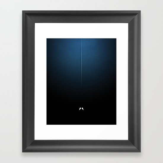 Smooth Heroes - The weaver Framed Art Print