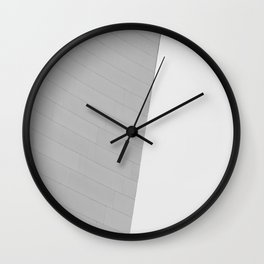 From the Inside Out Black And White Afternoon Vintage Retro Photography Wall Clock