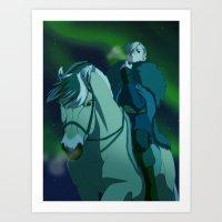 From horseback Art Print