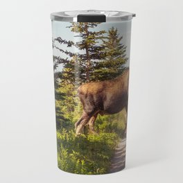 Skyline Trail Moose Travel Mug