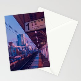 5 AM in Tokyo Stationery Cards