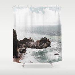 Wild Beach 2 Shower Curtain