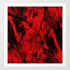Envision Red Art Print