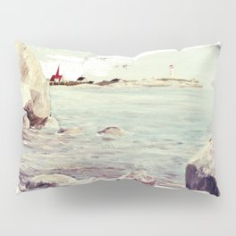 Peggy's Cove, Nova Scotia, CANADA   by Kay Lipton Pillow Sham