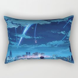 your name Taki Stars Balcony Rectangular Pillow