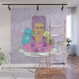Kaloha Frida Kahlo Hawaiian Tropical Design Wall Mural