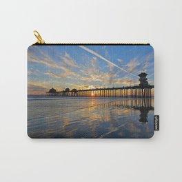 Sunset Huntington Beach Pier  10/6/13 Carry-All Pouch