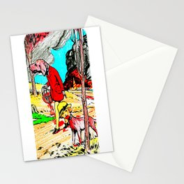 Flee the Scene Stationery Cards