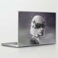 sia Laptop & iPad Skins featuring 100 Forms of Fear / Sia by Nicolas Jamonneau