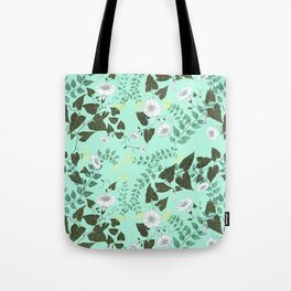 Honeysuckle & Bindweed Tote Bag
