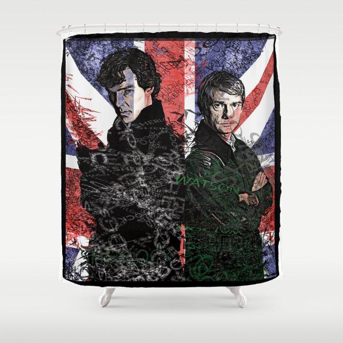 Sherlock, Watson & the British Flag