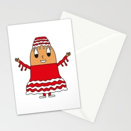 Egg Mucus Stationery Cards
