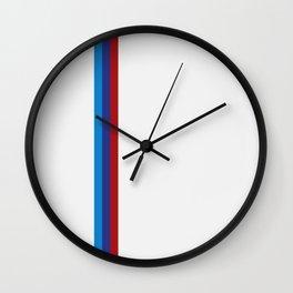 M-lines Wall Clock