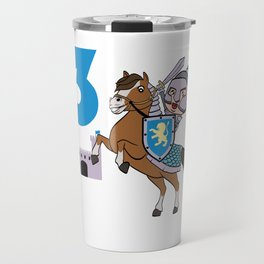 3rd Birthday Great gift idea for every knight and Fairy tale fan for birthday T-shirt Design Travel Mug