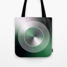 Serene Simple Hub Cap in Green Tote Bag