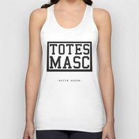 totes Tank Tops featuring Totes Masc - Classic by lessdanthree