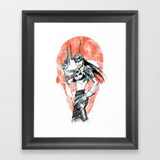 Gunslinger Girl Framed Art Print