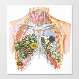 Lung Garden Canvas Print