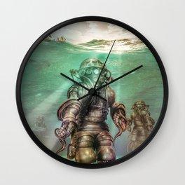 Aquanauts - Tales from under the sea Wall Clock