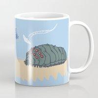 nausicaa Mugs featuring ohmu! by nisimalotse