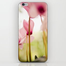 Cyclamen Forest iPhone Skin
