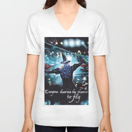 To Fly Unisex V-Neck