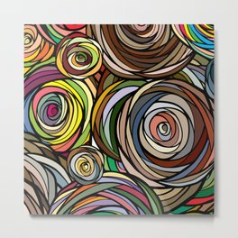 Rubberbands Metal Print