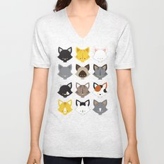 Cats, Cats, Cats Unisex V-Neck