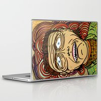 danny ivan Laptop & iPad Skins featuring Ivan by Patty Hogan