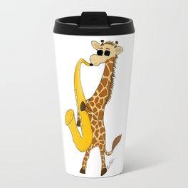 Jazzy Giraffe Travel Mug