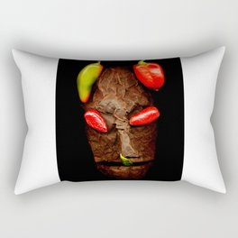 Copperhead mask_039 Rectangular Pillow