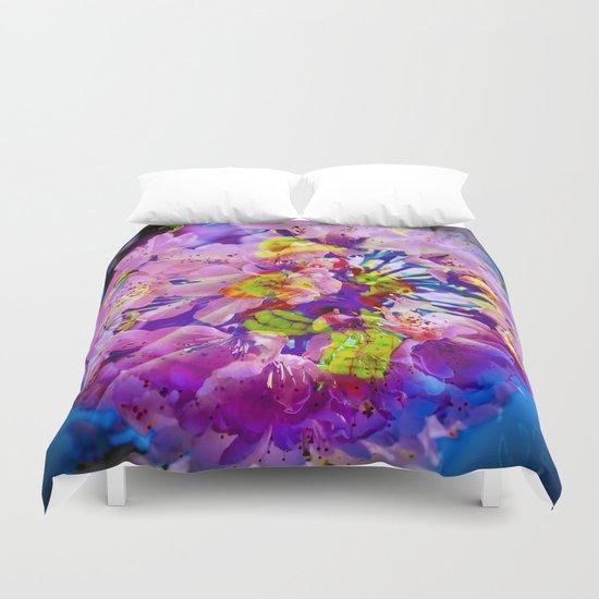 flowers magic Duvet Cover