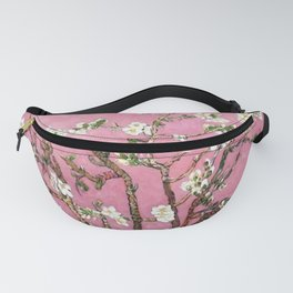 Vincent van Gogh Blossoming Almond Tree (Almond Blossoms) Pink Sky Fanny Pack