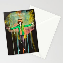 I was born Stationery Cards