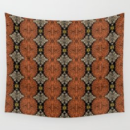 Brahma Play - (Rust - Ceylon Yellow - Almond Buff) Wall Tapestry