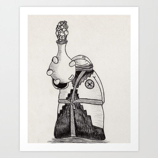 NuBlood Art Print