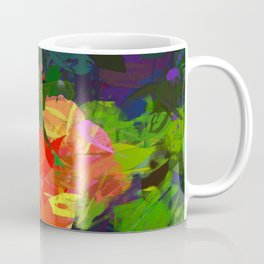 Nasturtiums in the garden Coffee Mug